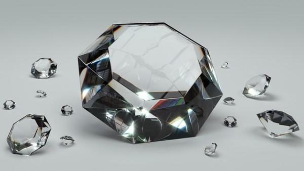 ダイヤモンドパワーストーン