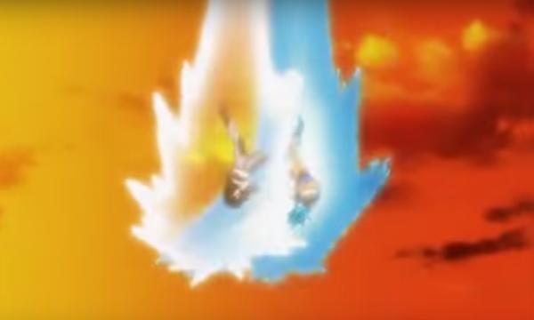 ドラゴンボール超17号対悟空ブルー